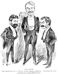 Richard D'Oyly Carte, W. S. Gibert, and Arthur Sullivan