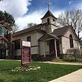 Glenwood Springs' first church, founded in 1886.jpg