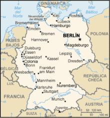 Geografa de Alemania  Wikipedia la enciclopedia libre