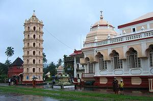 Mangueshi Temple - Image: Goa Shri Mangueshi temple (11)