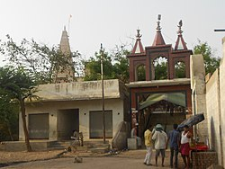 A temple in Gokul