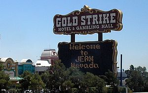Jean, Nevada - The Gold Strike Casino in Jean