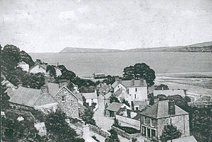 Goodwick - 19th century view of Goodwick Square