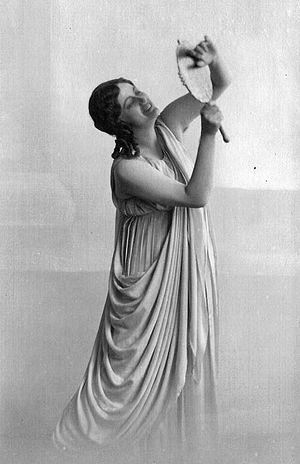 Merry Mount (opera) - Göta Ljungberg, the first Lady Marigold.