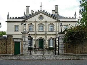 Quinlan Terry's Regent's Park villas - Gothick Villa, Regent's Park