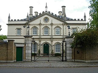 six large detached villas on the north-western edge of London