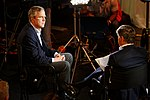 Governor of Florida Jeb Bush, Announcement Tour and Town Hall, Adams Opera House, Derry, New Hampshire by Michael Vadon 05.jpg