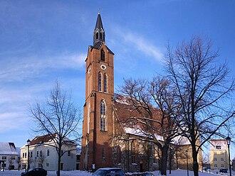 Gräfenhainichen - Church Sankt Marien