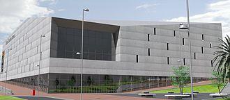 Gran Canaria Arena - Image: Gran Canaria Arena fachada Norte