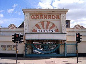 Granada Studios - The Granada Studios Tour entrance in 2006