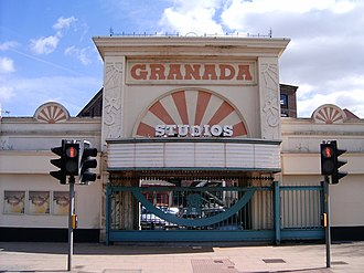 Granada Studios - The Granada Studios Tour entrance in 2006