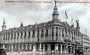 Grand National Theatre, Havana Cuba 1920