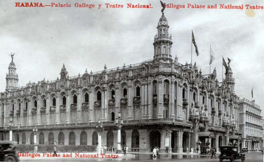 Grand National Theatre, Havana Cuba 1920