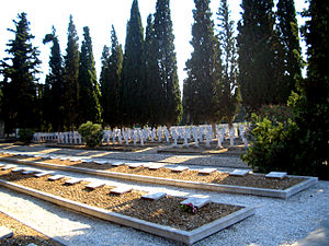 George Milne, 1st Baron Milne - An allied cemetery at Thessaloniki (Salonika).