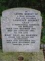 Gravestone of Lawrence Herbert Gray - geograph.org.uk - 397768.jpg