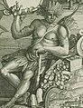 Gravure allégorique montrant un Amérindien avec une trésor en 1698.jpg