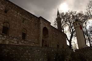 Sarukhanids - Great Mosque of Manisa, built 1374.