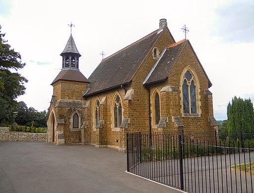 Green Lane Cemetery chapel 2019