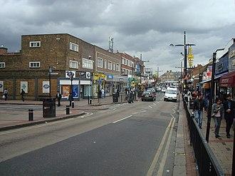 Upton Park, London - Image: Green Street, Upton Park, London E13 geograph.org.uk 1471336