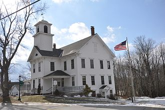 Greenfield, New Hampshire - Image: Greenfield NH Town Hall