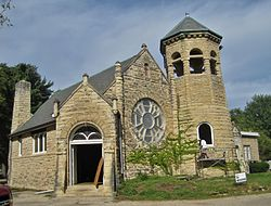 Greenwood Cemetery Chapel and Crematory.JPG