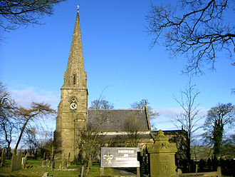 Grindon, Staffordshire - All Saints Parish Church
