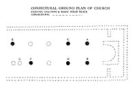 Ground plan of church complex
