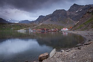 Grytviken Place in South Georgia and the South Sandwich Islands, United Kingdom