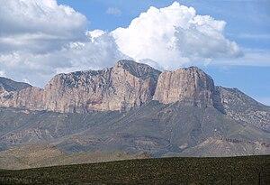 Guadalupe Peak - Image: Guadalupe Nima 2