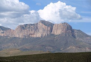 Guadalupe Peak Highest mountain peak in Texas