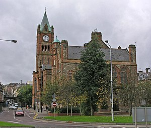 Bloody Sunday Inquiry - The Guildhall, Derry, home to the early part of the inquiry