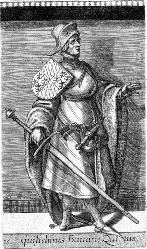 William I, Duke of Bavaria - Image: Guillaume III de Hainaut