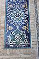 Gur-e Amir - Exterior views 97 porch detail.JPG