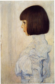 Gustav Klimt Portrait of Helene Klimt (his niece).jpg