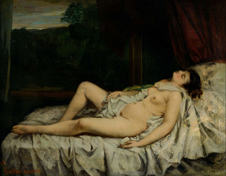 File:Gustave Courbet - Sleeping Nude - Google Art Project.jpg