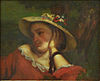 Gustave Courbet - Woman with Flowers in her Hat.JPG