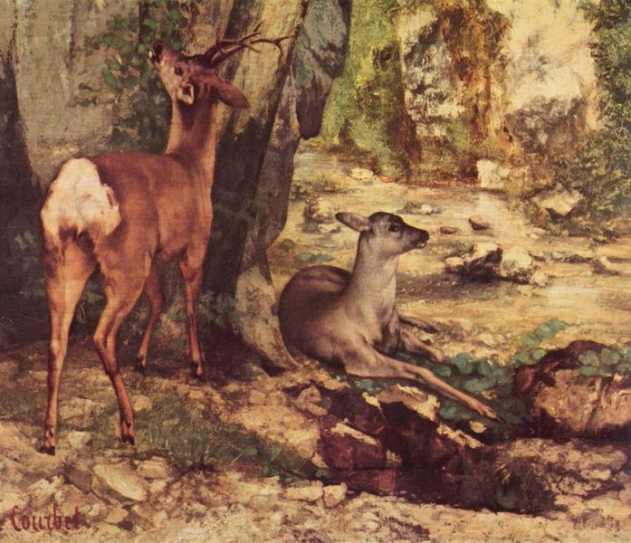 Gustave COURBET resimleri