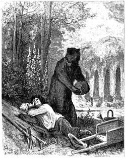 Gustave Dore L'Ours Et L'Amateur Des Jardins.png