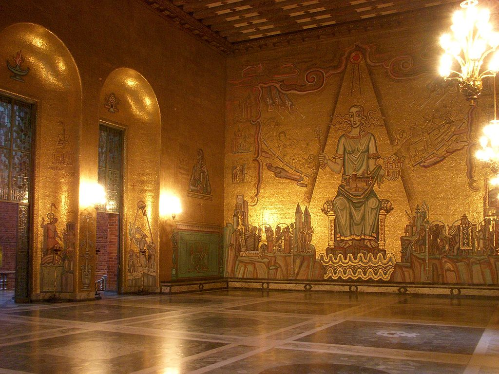 40 magnificent photos of Stockholm city hall in Sweden
