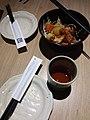 HK 中環 Central L-Place 大戶屋日本餐廳 Ootoya Japanese style Restaurant food dinner bowl chicken meat May 2019 SSG 03.jpg