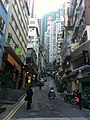 HK 中環 Central Soho 士丹頓街 Staunton Street view Peel Street Dec-2010.jpg