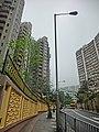 HK 北角半山 North Point Mid-Levels 雲景道 77 Cloud View Road 雲峰 Summit Court Apr-2014 Street light.JPG