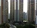 HK 藍田綜合大樓 Lam Tin Complex 藍田公共圖書館 Public Library view 匯景花園 Sceneway Garden June 2014 Ip4.jpg