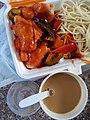 HK 銅鑼灣 Causeway Bay 渣甸坊 Jardine's Square 外賣店 take away shop 大大廚美食外賣 Chef's Catering Dec 2016 02.jpg