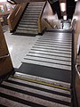 HK SW 上環站 Sheung Wan 港鐵 MTR Station interior stairs August 2019 SSG 01.jpg