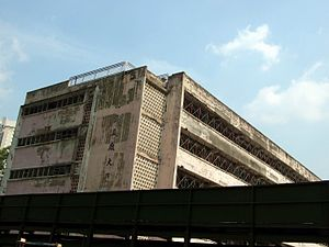 San Po Kong - A building of the public San Po Kong Factory Estate, shortly before its demolition in 2007.