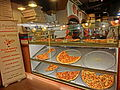 HK TST night 嘉蘭道 Granville Road restaurant Paisano's Pizzeria pizza Dec-2013.JPG
