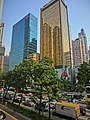 HK Wan Chai 灣仔 告士打道 138 Gloucester Road Allied Kajima Building facades 124-131 Neich Tower Mar-2013.JPG