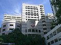 HK Wong Chuk Hang 南朗山道 Nam Long Shan Road July-2009 新加坡國際學校 Singapore Internation School SIS facade.JPG