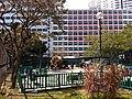 HK YMT 油麻地 Shanghai Street Market Street Playground 上海街遊樂場 Yau Ma Tei Jockey Club Clinic facade Jan-2014.JPG